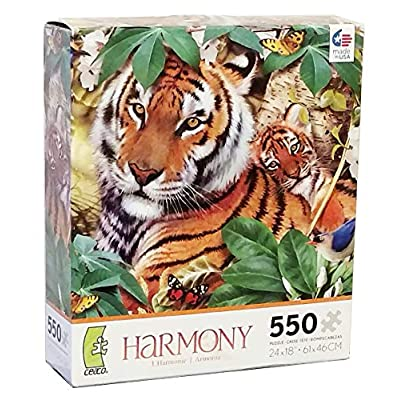 Harmony 550 Piece Puzzle Saltwater By Howard Robinson By Ceaco