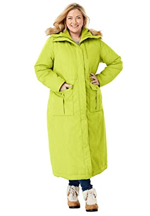 fedea5b8885 Woman Within Plus Size The Arctic Parka in Extra Long Length at Amazon  Women s Clothing store