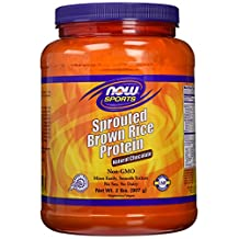 Sprouted Brown Rice Protein, Chocolate 2 lbs by Now Foods (Pack of 1)