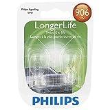 Philips 906 LongerLife Miniature Bulb, 2 Pack