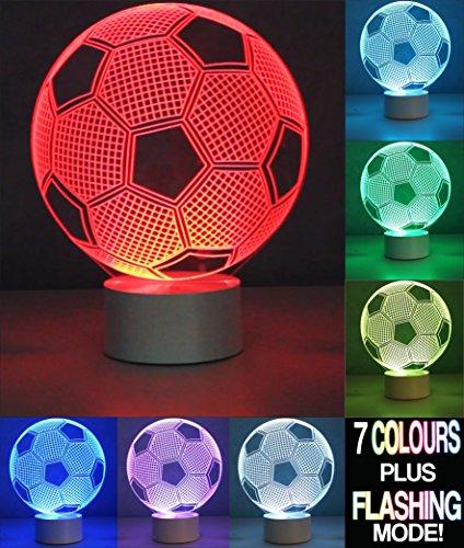 Optical Illusion 3D Football Lamp - Fußball Lampe