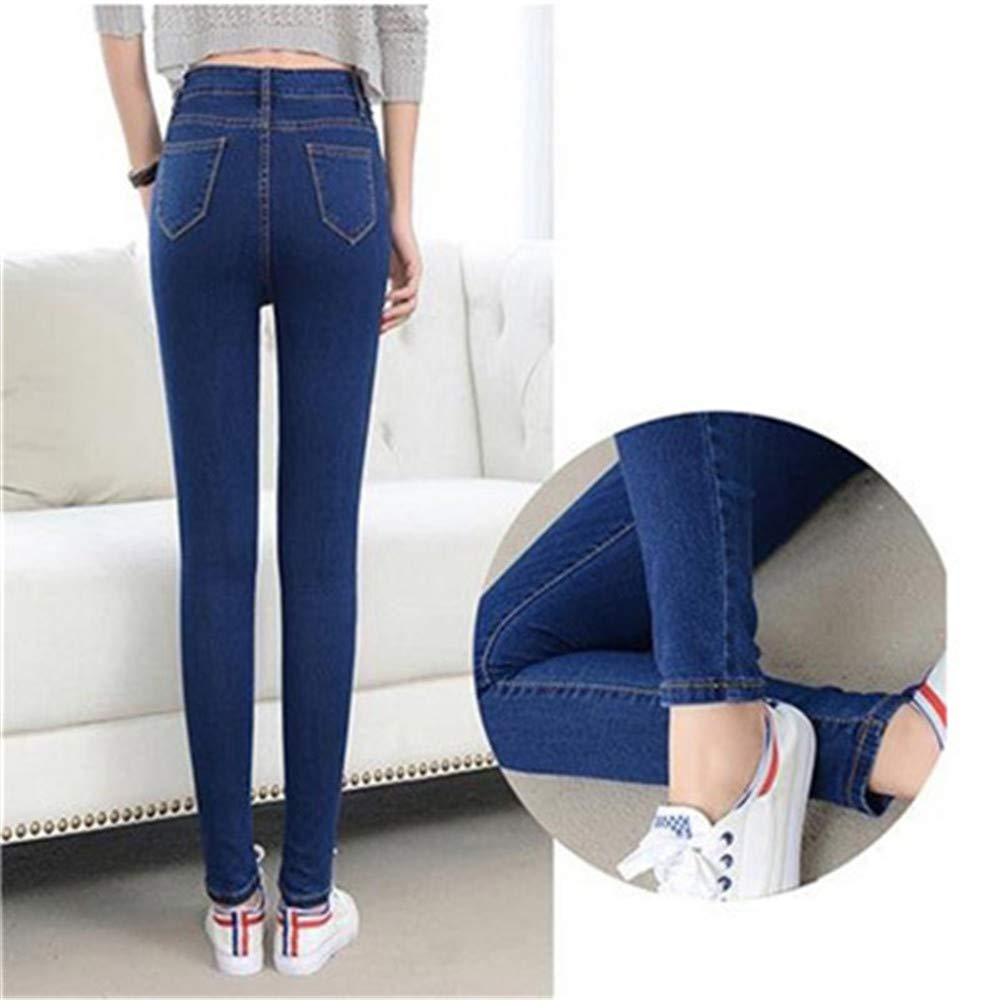 Yehopere Womens Stretch Slim Fit Jeggings Fashion Denim Trouser Skinny Jeans