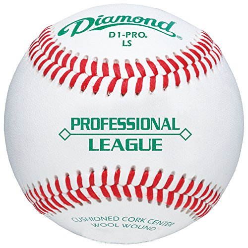 Diamond Sports Professional League Low-Seam Baseball (Dozen) by Diamond