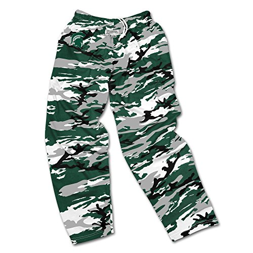 Michigan State Spartans Lounge Pant - Zubaz NCAA Michigan State Spartans Men's Camo Print Team Logo Casual Active Pants, X-Large, Green/Gray/Black
