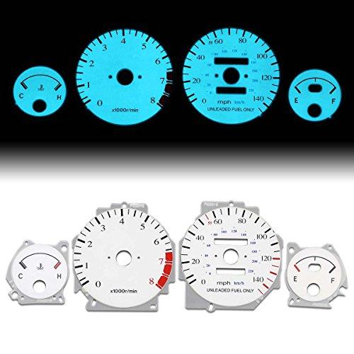 For Acura Integra DA Auto Transmission AT White Face Dash Cluster Electroluminescence Indiglo Glow (Acura Integra Transmission)