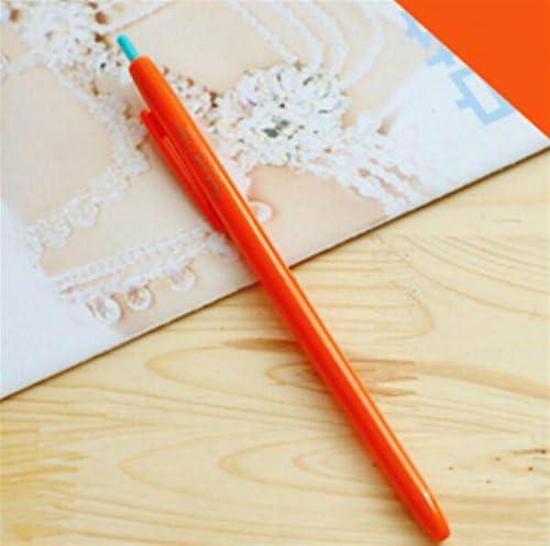 HuaQingPiJu-JP 3本セット/キャンディーゲルペンキットサインペン学生用ステーショナリー用品(オレンジ)