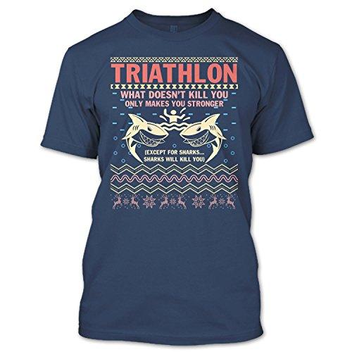 Crazy Fan Store Triathlon T Shirt, What Doesn't Skill You T Shirt Unisex - Clothing Triathlon Stores
