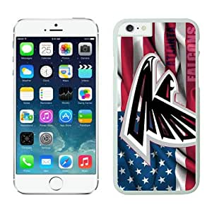 Iphone 6 Protective Skin Cover Case Atlanta Falcons iPhone 6 4.7 Inches Cases 14 White TPU Phone Case