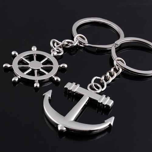 Wedding Ring On Chain Boy Or Girl: Couple Keychain Metal Boy Girl Sweet Key Chain Ring Key