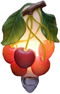 Cherries Night Light - Ibis & Orchid Flowers of Light Collection