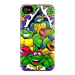 Shock-Absorbing Hard Cell-phone Case For Iphone 6plus (OrQ7969nHmS) Customized Nice Ninja Turtles Pictures