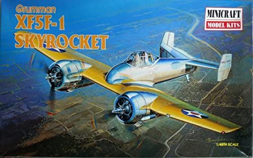 1/48 XF5F1 Skyrocket Airplane Model Kit 514lS-ibFJL