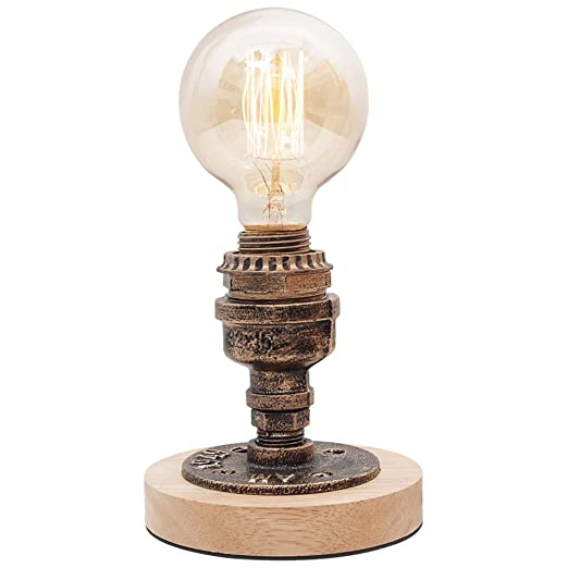 Mesa Lampara Estilo Industrial Lámpara de mesa LED moderna ...