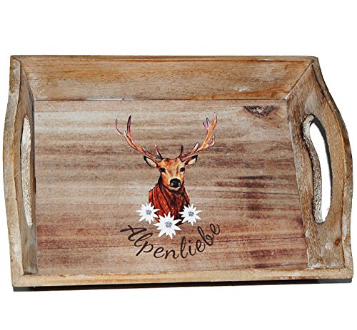 Tablett aus Holz -