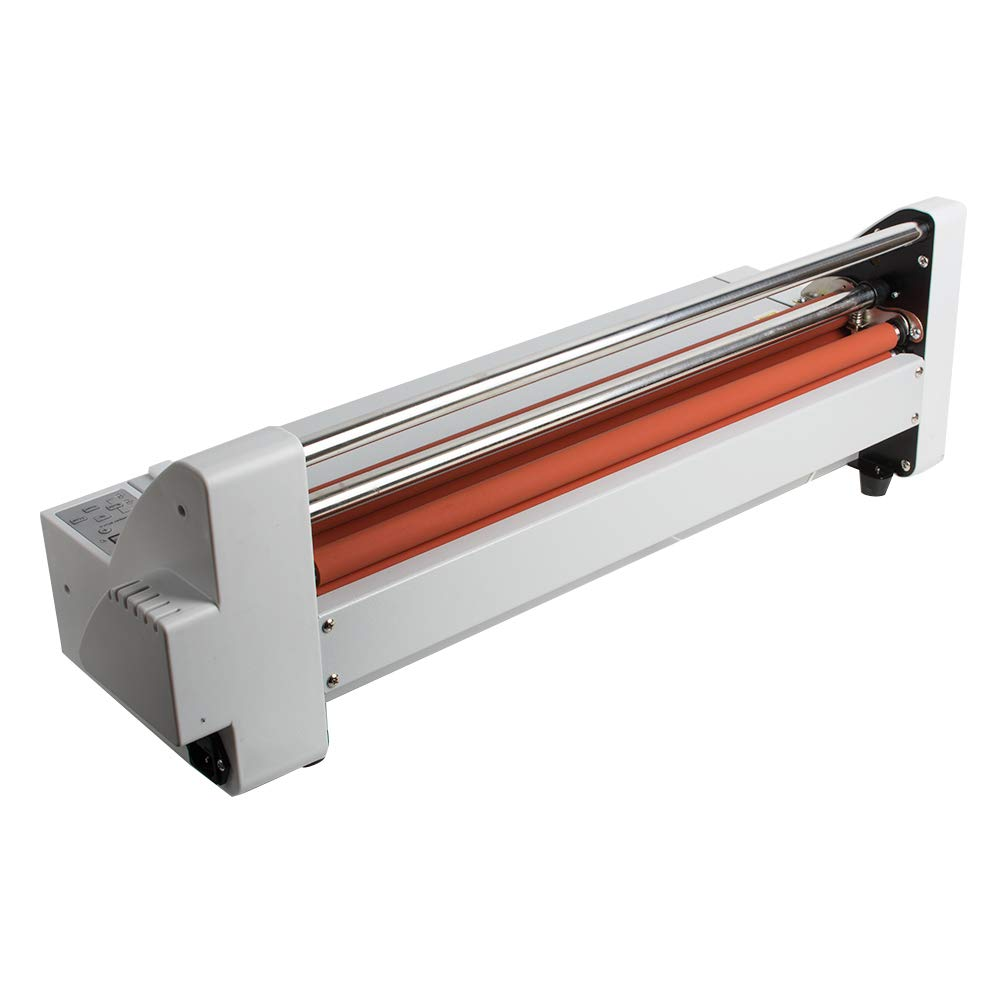 17''Laminating Machine Hot Cold Roll Laminator 450 mm Single&Dual Sided Electronic Temperature Control LED Display by Fencia (Image #4)