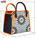 8c5f6cbf40 QOGiR Reusable Insulated Neoprene Lunch Bag Tote Purse Boxes-The ...