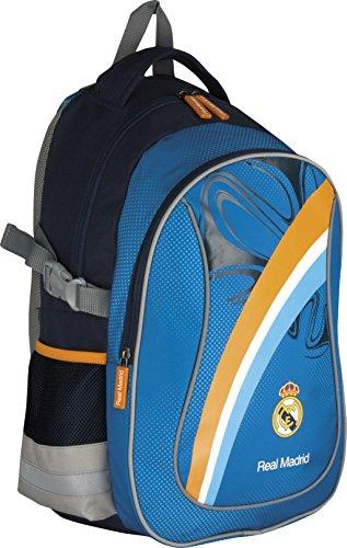 """Real Madrid Rucksack Schul- und Sportrucksack """"blue/yellow"""" 40x30x20 RM-30"""
