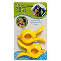 Boca Clip Beach Towel Clips Duck Shape Towel Holders Set of 2