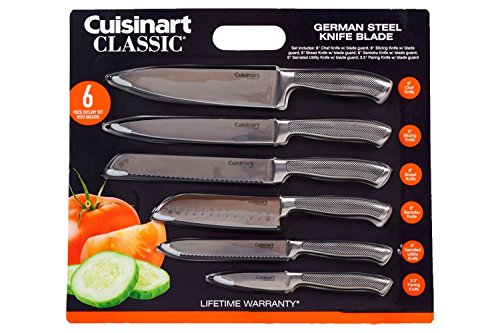 Cuisinart Classic Impressions German Steel 6-Piece Knife Set - http://coolthings.us