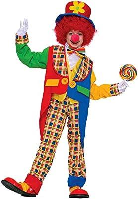 Forum Novelties Clown On The Town Costume, Medium