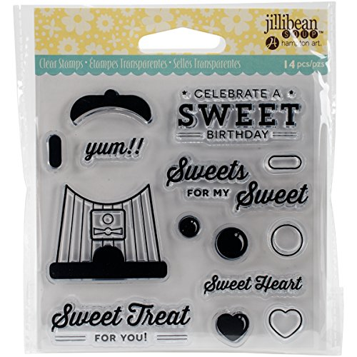 """UPC 729632167201, Jillibean Soup Clear Stamps 4""""X4""""-Sweet Treat"""