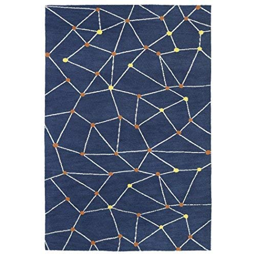 Kaleen Rugs Lily & Liam Collection LAL08-10 Denim Machine Tufted Rug, 3