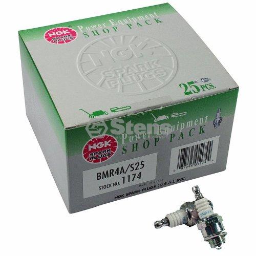 Stens 130-433 Spark Plug Shop Pack/NGK BMR4A (Pack of 25)