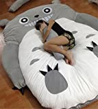Christmas Unisex-adult Totoro Design Big Sofa Totoro Bed Mattress Sleeping Bag Mattress