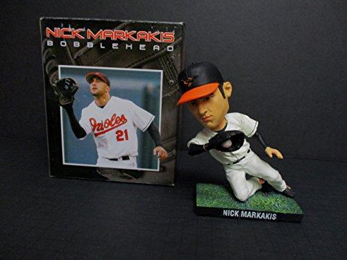 Nick Markakis Baltimore Orioles (2007 Baltimore Orioles Nick Markakis Baseball Bobblehead SGA)