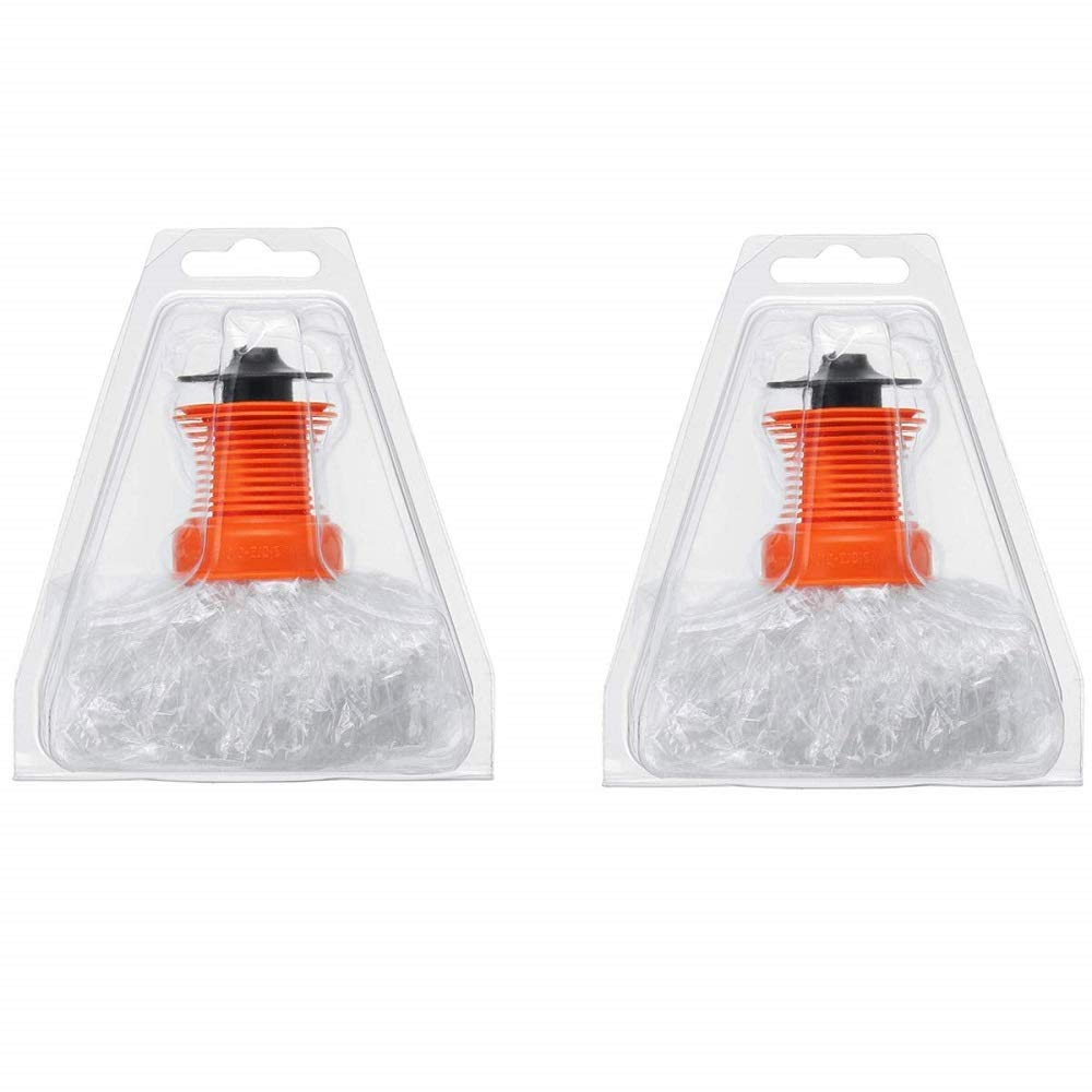 Ecarelife Easy Valve Bags Replacement Heat Filling Chamber Balloon for Volcavo Pack of 2