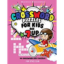 Crossword Puzzles for Kids Age 7 up: 90 Crossword Easy Puzzle Books for Kids