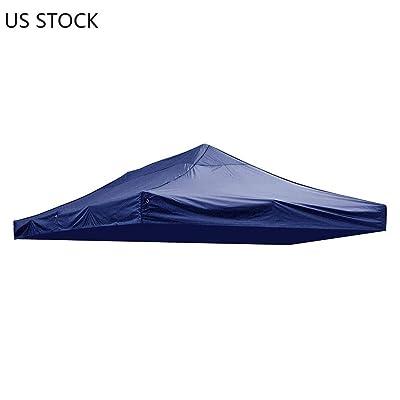 CZJ-Tech Gazebo Canopies 10x20ft Tent Canopy Top Replacemen/Navy : Garden & Outdoor