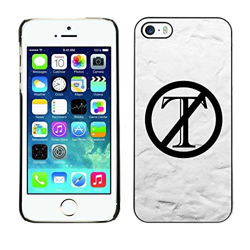 Print Motif Coque de protection Case Cover // Q04120503 Trump dehors blanc mur // Apple iPhone 5 5S 5G