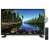 """SuperSonic SC-3222 LED Widescreen HDTV 32"""", Built-in DVD Player with HDMI - (AC Input Only): DVD/CD/CDR High Resolution and Digital Noise Reduction"""