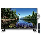 """SuperSonic SC-3222 LED Widescreen HDTV 32"""", Built-in DVD Player with HDMI & AC Input: DVD/CD/CDR High Resolution and Digital Noise Reduction"""