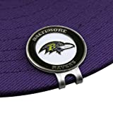 Baltimore Ravens Golfer's Hat Clip & Ball Markers