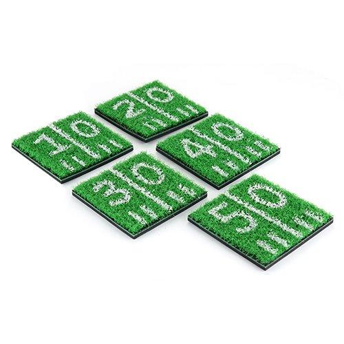 TrueZoo Home Turf Coasters, Green