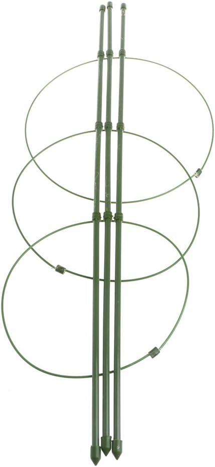 qingqingR Hogar Planta Verde Hierro Forjado Soporte de Maceta Sala de Estar Interior Planta de Escalada Escalada Marco de Vid Cono Celos/ía Verde 45 cm 1 Pieza