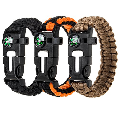 Anksono Paracord Bracelet, 9.0