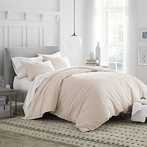Under the Canopy Brushed Organic Cotton Duvet Cover Set Full