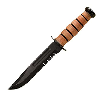 Amazon.com: Lucha/Utilidad Cuchillo, USMC Ka-Bar 2 – 5018 ...