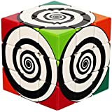V-Cube Funky Spiral 3x3 Flat Brain Teaser Puzzle, Multi