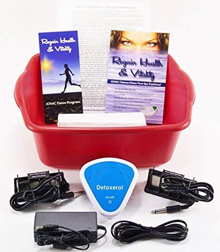 ION BALANCE Ionic Detox Foot spa Bath Chi Cleanse Unit for Home Use