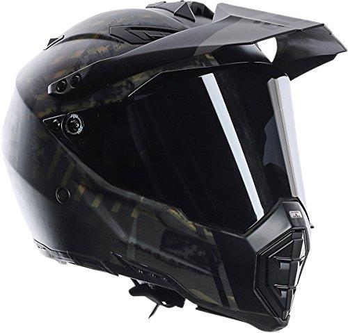AGV AX-8 Grunge Dual Sport Evo Helmet (Multicolor, Large)