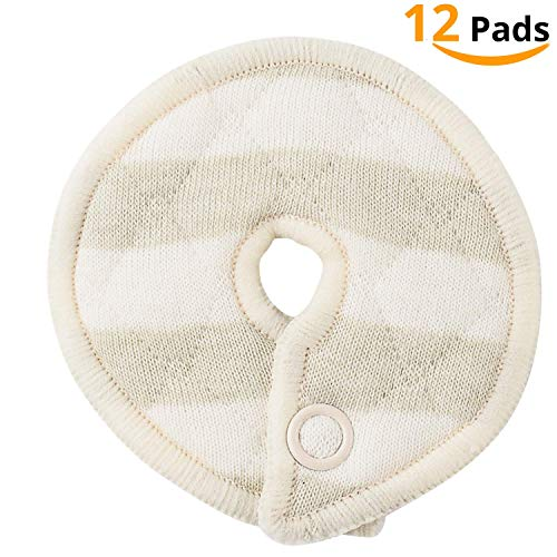 - Ian's Choice Organic Cotton Pads for Feeding Support Extra Soft and Absorbent (12 Pack)