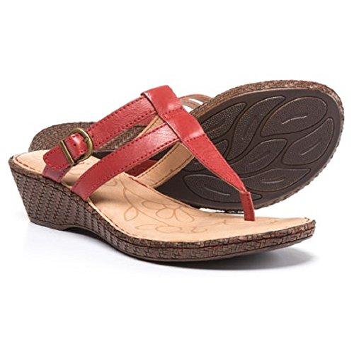 Födda Iris Kil Röda Kvinnor Sandaler - Läder Storlek: 7