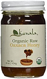 Kevala Organic Raw Oaxaca Honey, 16 Ounce