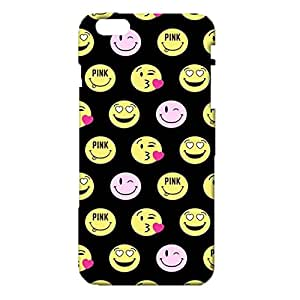iPhone 6 Plus/6s Plus 5.5 Inch Emoji Phone Case Cover,Fashion Lovely Emoji Face Space Smiley Custom 3D Snap on Case for iPhone 6 Plus/6s Plus 5.5 Inch