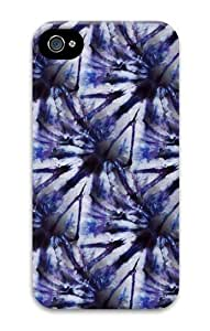 IMARTCASE iPhone 6 plus 5.5 Case, Blue Purple Tie Dye Crinkle Seamless PC Hard Plastic Case for Apple iPhone 6 plus 5.5 and iPhone 6 plus 5.5