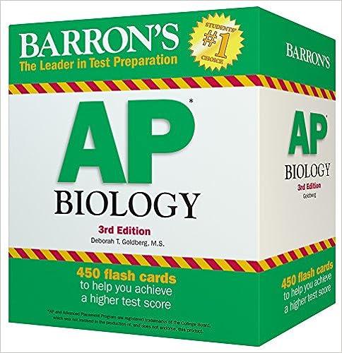 Amazon barrons ap biology flash cards 3rd edition barrons ap biology flash cards 3rd edition 3rd edition fandeluxe Choice Image